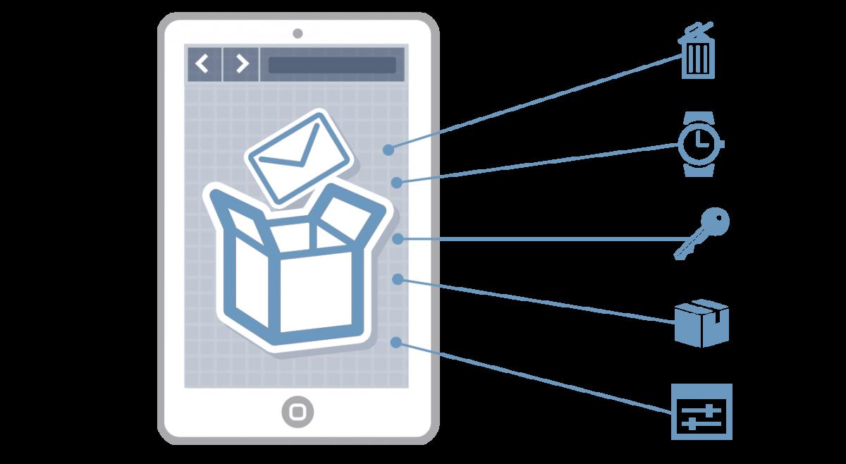 Kerio Cloud صندوق پستی،ایمیل و تقویم را در اختیار کاربر می گذارد